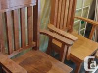 Never Used Good Quality, Solid Wood , Canadian Made