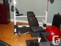 Impex Marcy Power Surge weight bench (model no.