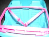 Barbie 4x4 Jeep Dune Buggy, Mattel 1994. Aqua with pink
