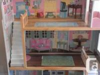 Hello Everyone!   I am selling a barbie doll house. It