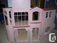 Good health condition Barbie 2 tale play residence. Has