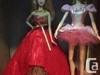I have fairytopia , birthday wishes, holiday barbies,