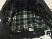 Men's Barbour Jacket in Sage colour (dark green). Size