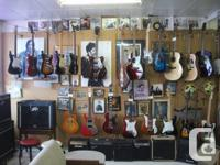 Vintage guitars and amps. Terrific deals to be had