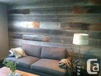 Barn Board and Feature Wall Paneling Tired of looking