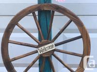 Large Handcrafted stand up Basket Hanger or