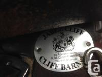 """This dark brown 17"""" All Purpose Barnsby saddle is in"""