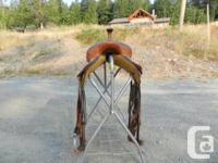 Barrel racing saddle, Western Saddle Company, 13.5