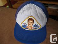 Mark Messier authorized Oilers baseball cap. I received