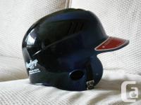 Youth Baseball Helmet made use of for one season of