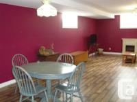 Pets Yes Smoking No Spacious & bright bsmt apartment in