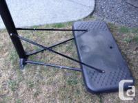 Nearly new matrix basketball hoop,adjust from about