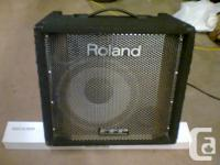 I have a great Roland Bass amp for sale. design DB500.
