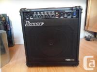 I am selling this Ibanez Bass Amp as I don't play bass.