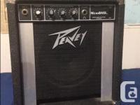 Selling my Samick Bass Guitar and two Peavey Bass