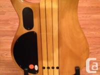Peavey Cirrus BXP 4 string bass. Neck through body, used for sale  Prince Edward Island