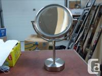 3 FLIP STYLE MIRRORS: normal one size - 10X other