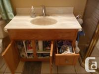 EN-SUITE BATHROOM VANITIES FOR SALE $125.00 EACH OBO., used for sale  British Columbia