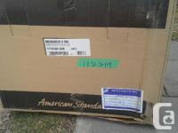 "New still in box ""American Standard Bath"" we purchased"