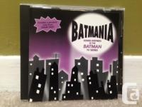 A collection of 11 Batman novelty songs, plus four