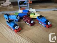 Battery Operated Thomas Train Tracks and Cars.