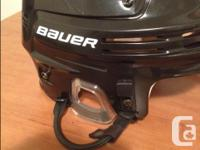 Bauer 4500 Hockey Helmet Combo with Cage - brand new