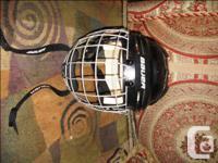 Bauer BHH4500 XS Hockey Helmet Roller Hockey Ice/True