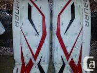 Bauer Supreme Total amount ONE HUNDRED pads 34 +1, with