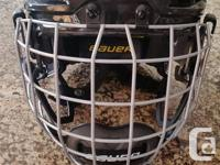 Bauer Youth RE-AKT 100 helmet for sale. The helmet was
