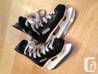 Bauer Ice Skates, Children's Size Y9