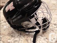 Top of the line Bauer Re-AKT Helmet, purchased last