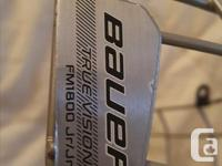 Excellent condition. Never used for hockey, was on