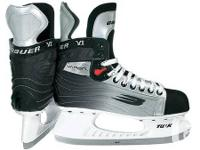 These Skates are a size 7.5D. They were used for only 2