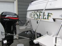 The fishing machine is for sale! This 1995 Bayliner