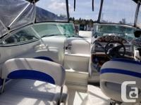 This Bayliner 265 SB is a very nice freshwater boat,