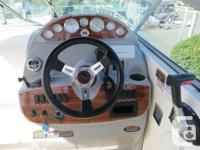 This well-maintained Bayliner 265 SB comes powered by a