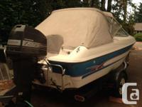 1994 Bayliner Bowrider with a 120Hp Force Comes with