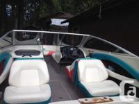 92 Bayliner Capri, new steering cables, dual batteries,