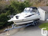 This boat is a must see! Why commit to annual moorage