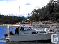 Shavasan is a 1980 Bayliner 2270 Explorer that is ready