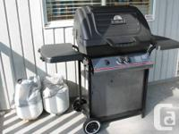 BBQ - STERLING, bought at Rona, with Cover and 2
