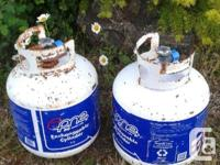 I have TWO empty 20lb BBQ propane tanks. Will sell both