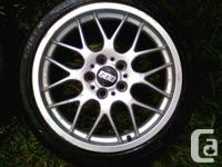I have a set of genuine 18inch bbs  rx 206 they are