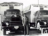 """Year 1954 This is a 1954 """"L"""" prefix commercial vehicle"""