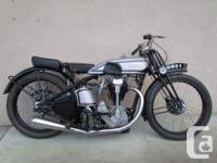 Vancouver Island Classic British Motorcycles Norton