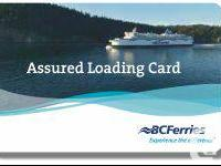 I have a BC Ferries Assured Loading Card for sale. It's