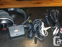 Turtle Beach PX3 Wireless Headphones. utilized but in
