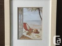 Beach Themed Prints 1st pic is a print on canvas 'Sur