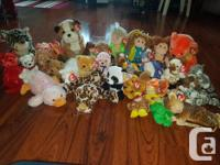 Beanie babies - lots are originals! They have always