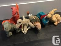 Includes pterydactyl, raptor and t-rex, ankylosaurus,